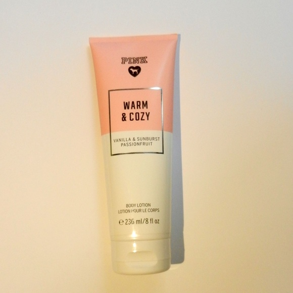 d1b19282fd Victoria Secret PINK Warm and Cozy Body Lotion